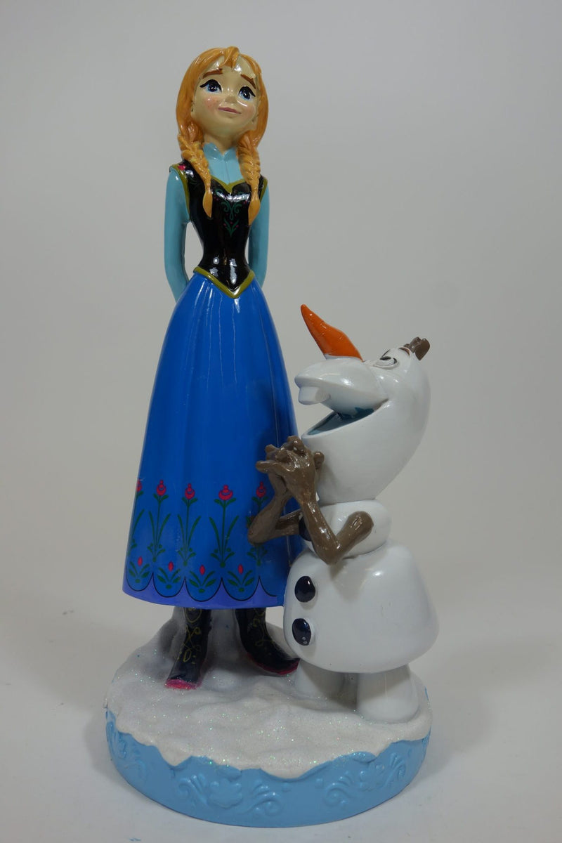 "Anna With Olaf 12"" Gnome 1"
