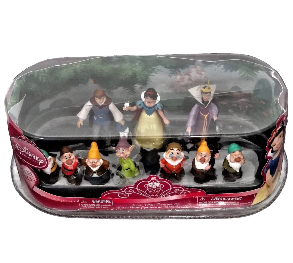 Disney Snow White 10 Piece Figurine Collection