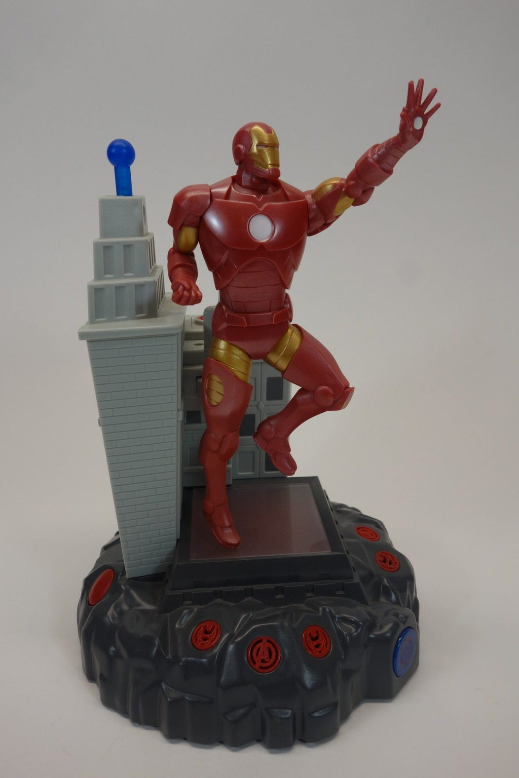 "Marvel Avengers Iron Man 12"" Talking Room Light Action Hero 2"
