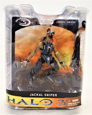McFarlane Halo 3 Series 1 Jackal Sniper Action Figure