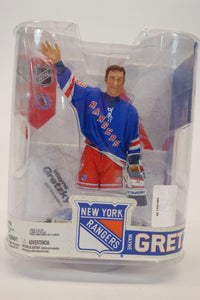 "McFarlane's Sportspicks NHL Legends Series 6 ""Wayne Gretzky"" New York Rangers 6"" Action Figure 1"