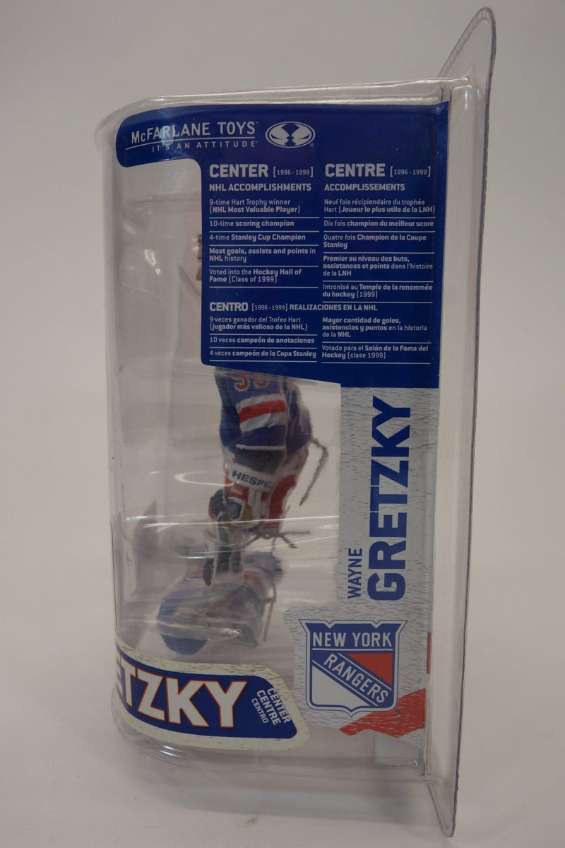 "McFarlane's Sportspicks NHL Legends Series 6 ""Wayne Gretzky"" New York Rangers 6"" Action Figure 2"