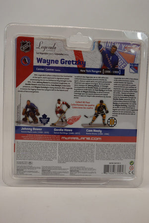 "McFarlane's Sportspicks NHL Legends Series 6 ""Wayne Gretzky"" New York Rangers 6"" Action Figure 3"