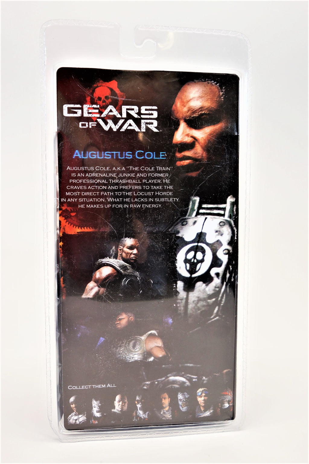 Gears of War Augustus Cole Action Figure - Neca Player Select Epic Games