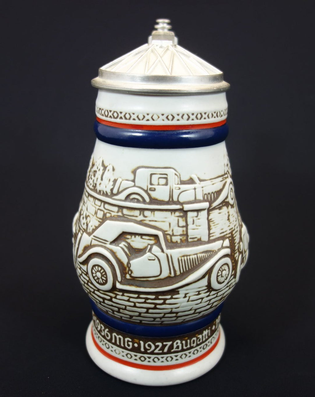 Avon Lidded Stein 1980 - 3D Antique Cars 2