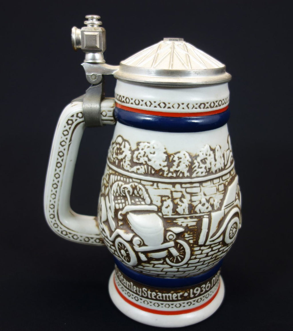 Avon Lidded Stein 1980 - 3D Antique Cars 1