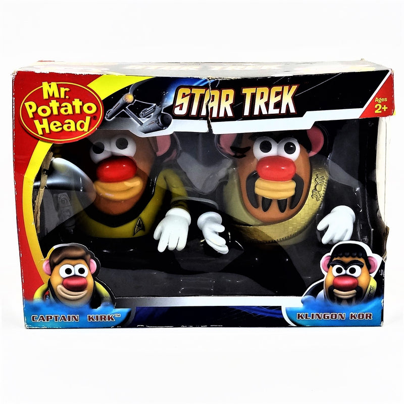 "Star Trek Klingon Kor and Captain Kirk 5"" Mr. Potato Head Toy"