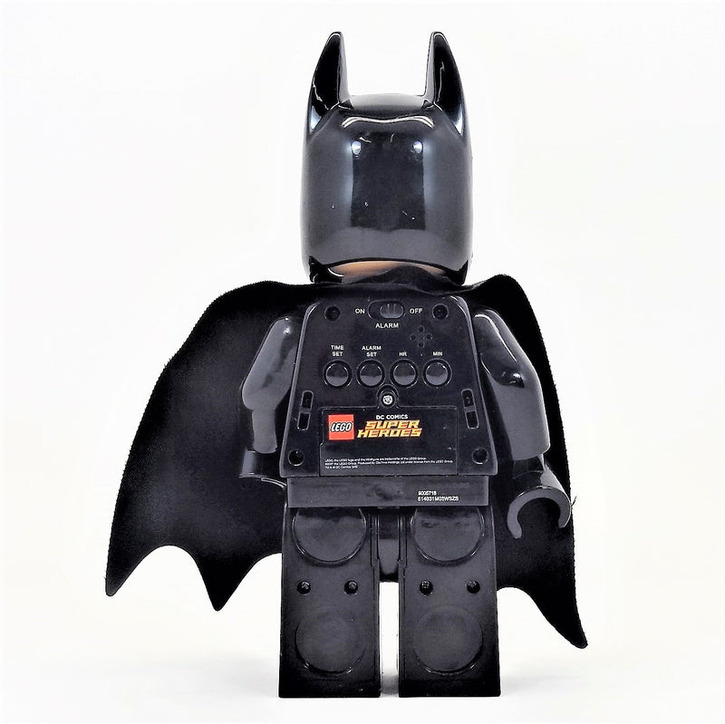 Batman Lego DC Comics Superhero Alarm Clock
