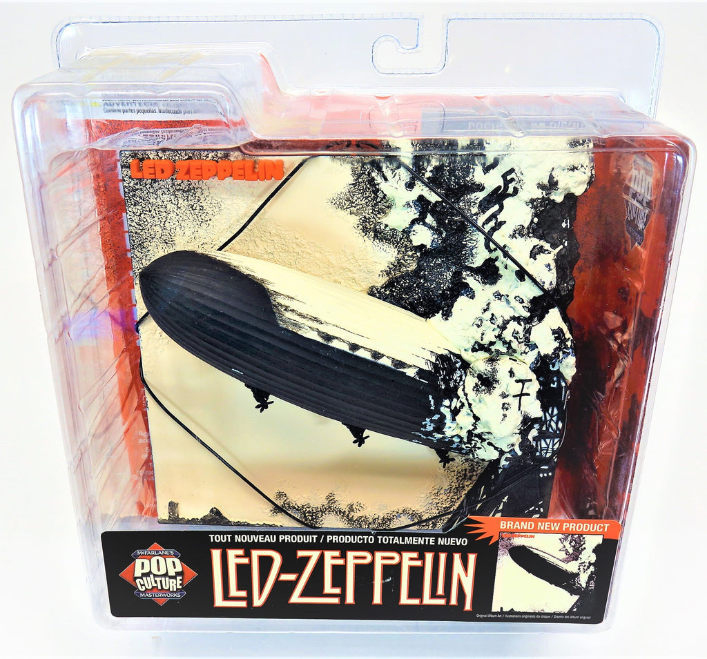 McFarlane Pop Culture Masterworks Led- Zeppelin 3D Album Cover Art