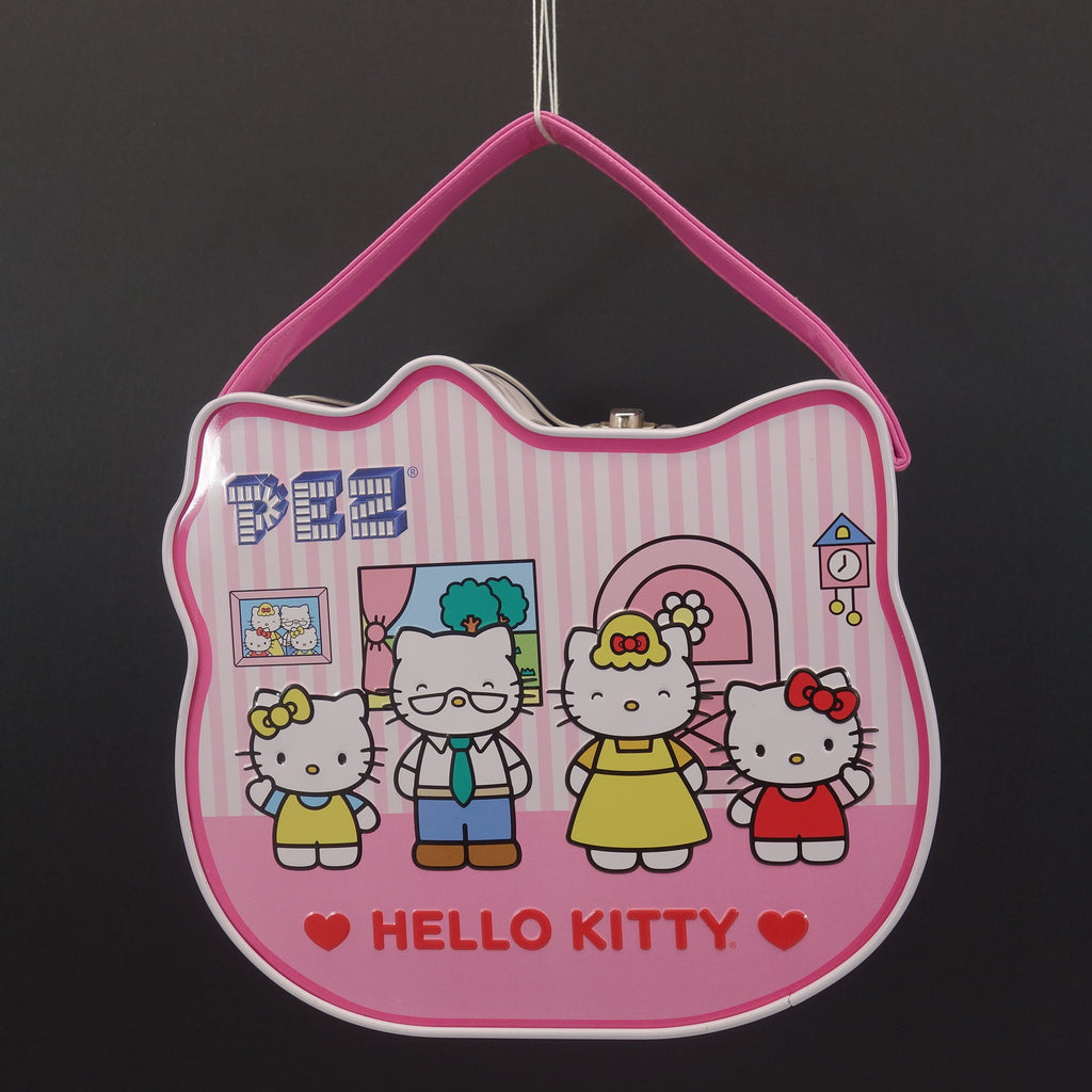 Limited Edition PEZ Hello Kitty Dispensers with Hello Kitty Tin Carrying Case