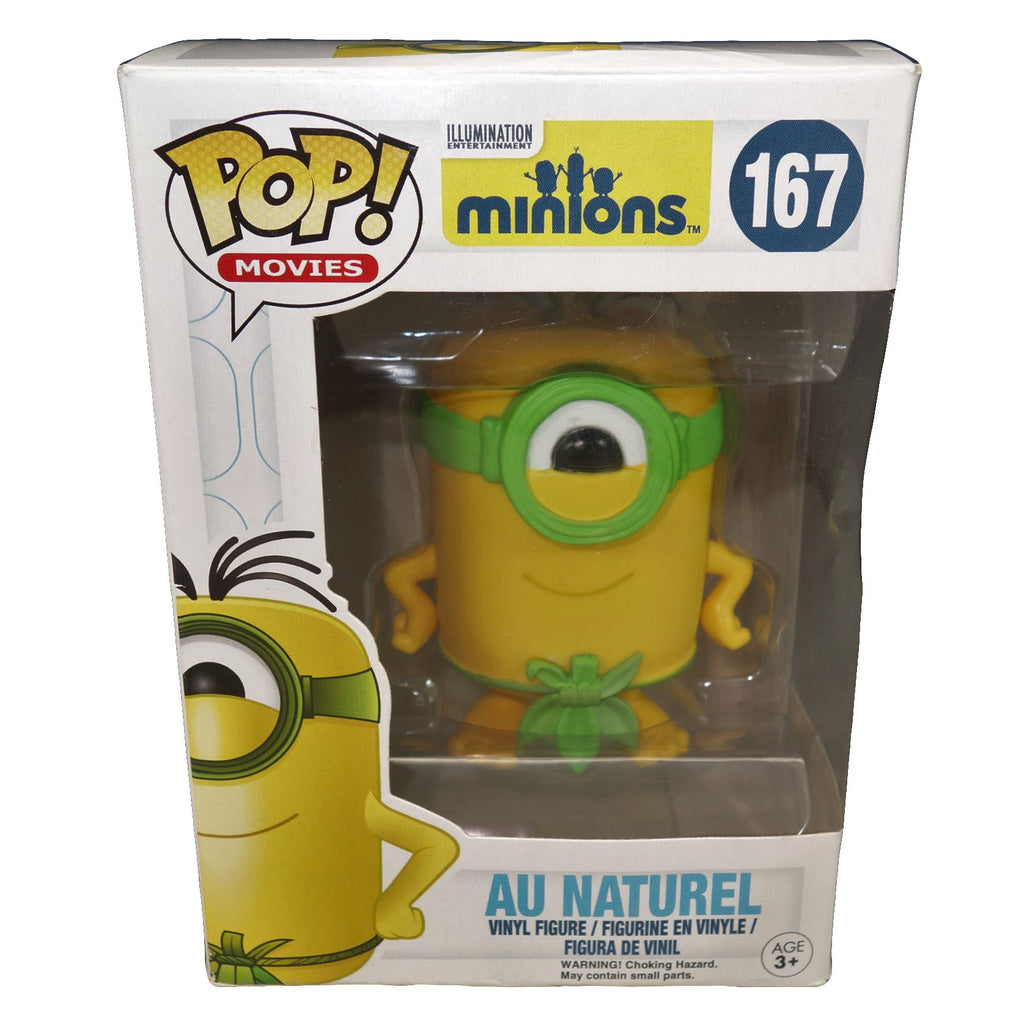 "Despicable Me ""Au Naturel"" Minion Funko Vinyl Figure Pop Movies"