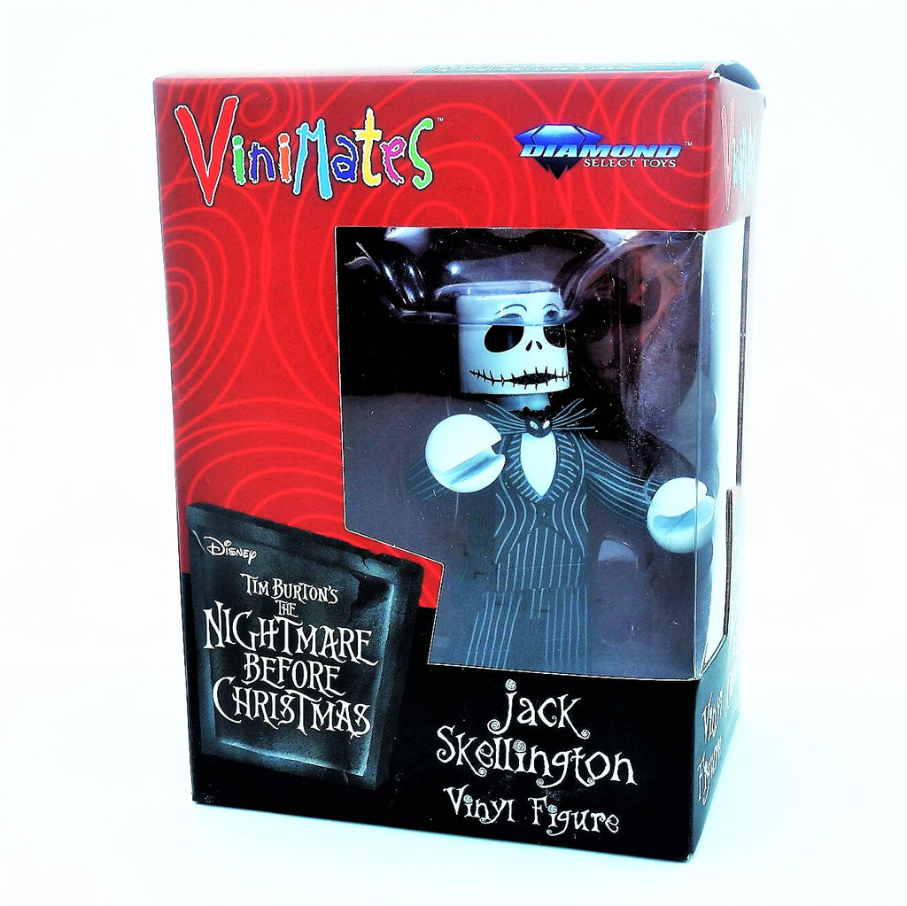"Disney Tim Burton's ""The Nightmare Before Christmas"" Jack Skellington ViniMates Vinyl Figure"