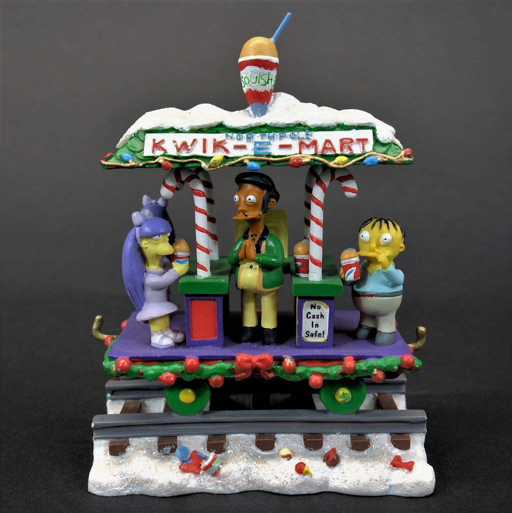 The Simpsons North Pole Kwik-E-Mart Holiday Train