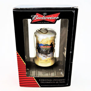"Budweiser ""King Of Beers"" Beer Mug Christmas Tree Ornament"