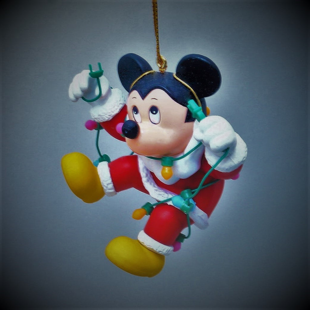 Disney's Grolier Mickey Mouse Collectible Christmas Tree Ornament #26231 101
