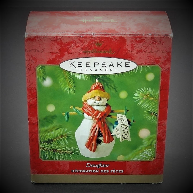 "Hallmark Keepsake ""Daughter"" Christmas Tree Ornament"
