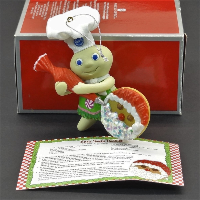 Heirloom Ornament Collection Pillsbury Dough-Boy With Sound Christmas Tree Ornament