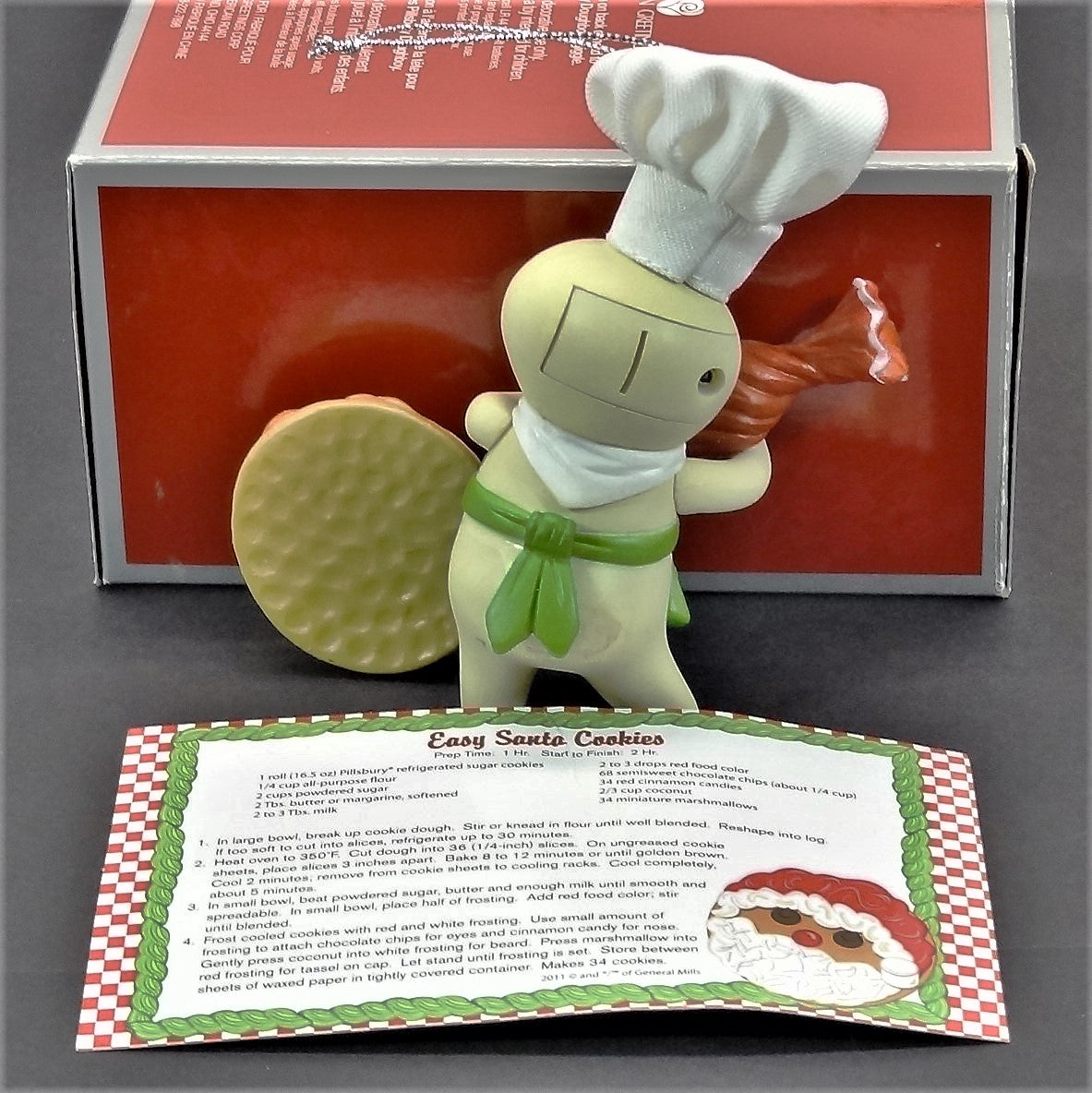 Heirloom Ornament Collection Pillsbury Dough Boy With Sound