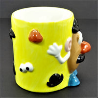 Clay Art Hand Painted Mr. Potato Head Coffee Mug