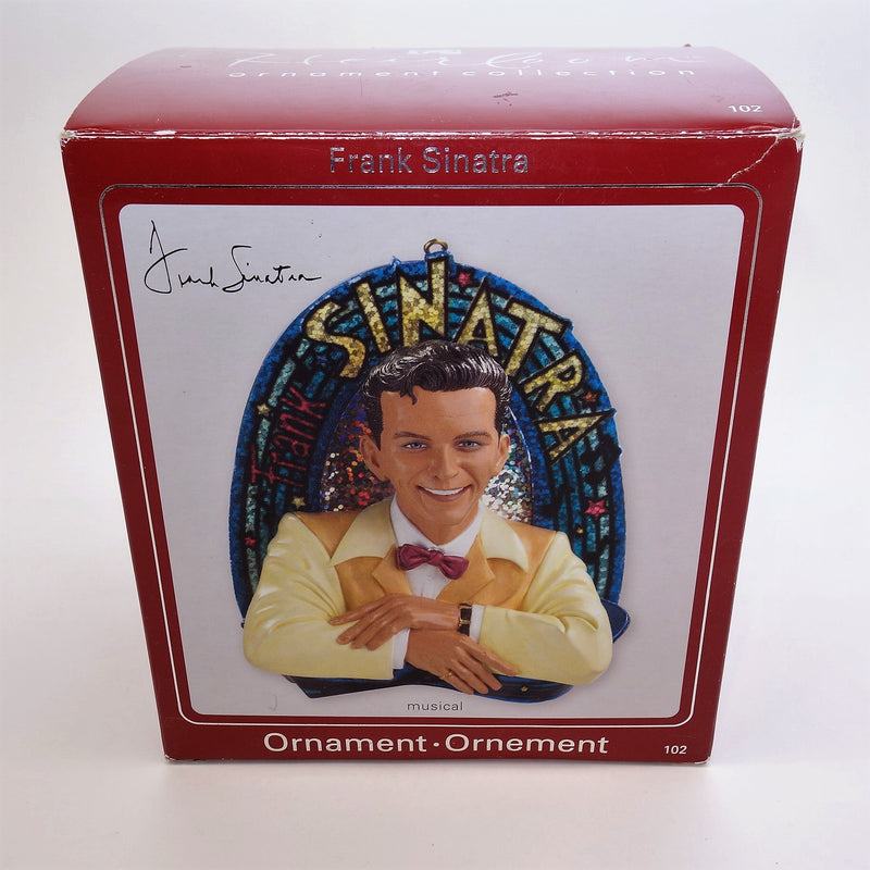 "Heirloom Ornament Collection Frank Sinatra Musical 4.5"" Christmas Tree Ornament"