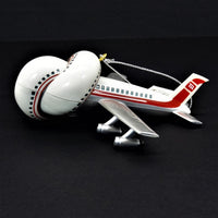 Heirloom Ornament Collection Airplane with Sound Christmas Tree Ornament