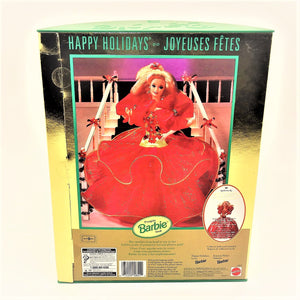 "Happy Holidays Special Edition 12"" Barbie in a Red Dress"