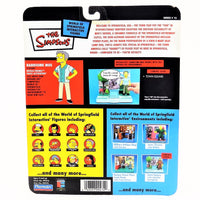 The Simpsons Intelli-tronics Playmates Handsome Moe Series 15 Interactive Figure #99470 2003