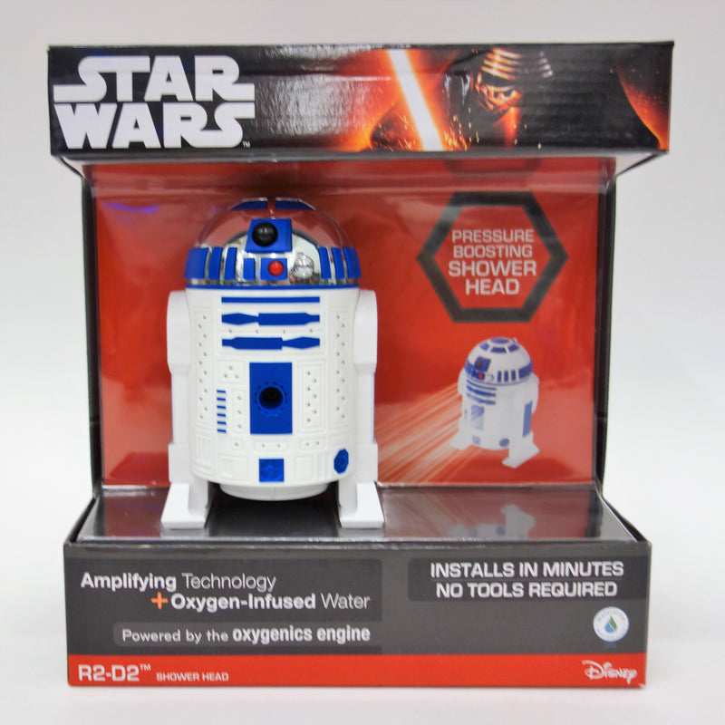 Oxygenics Star Wars R2-D2 Shower Head