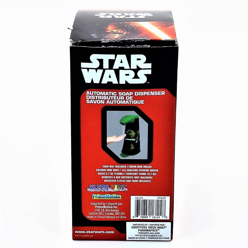 "Star Wars Yoda 6.5"" Automatic Soap Dispenser"