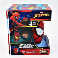 "Marvel Spiderman Glow Buddies Light Up Spiderman 5.5"" Lamp"