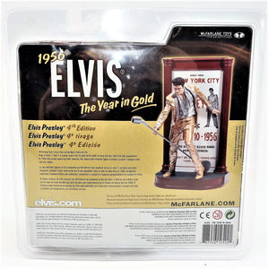 "Mcfarlane 1956 Elvis The Year in Gold 7"" Action Figure"