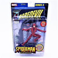 "Marvel Toy Biz Spider-man Classics Series 2 Daredevil 6"" Action Figure With Comic"