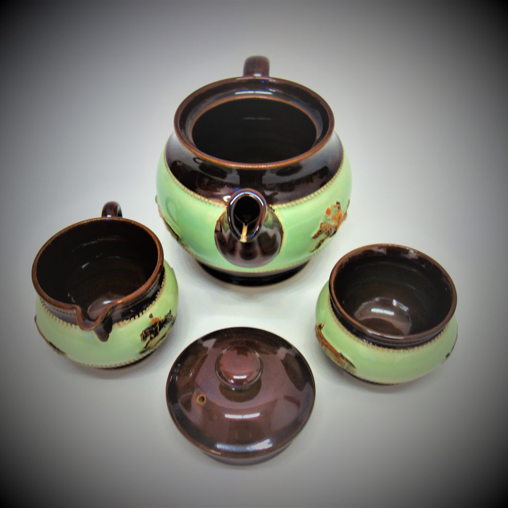 Borne Denby Derby Tea Set