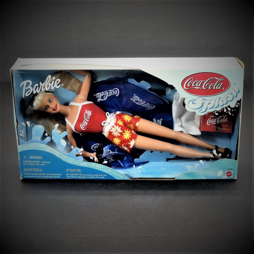 "Coca-Cola Splash 12"" Barbie Doll with Coca-Cola Accessories"