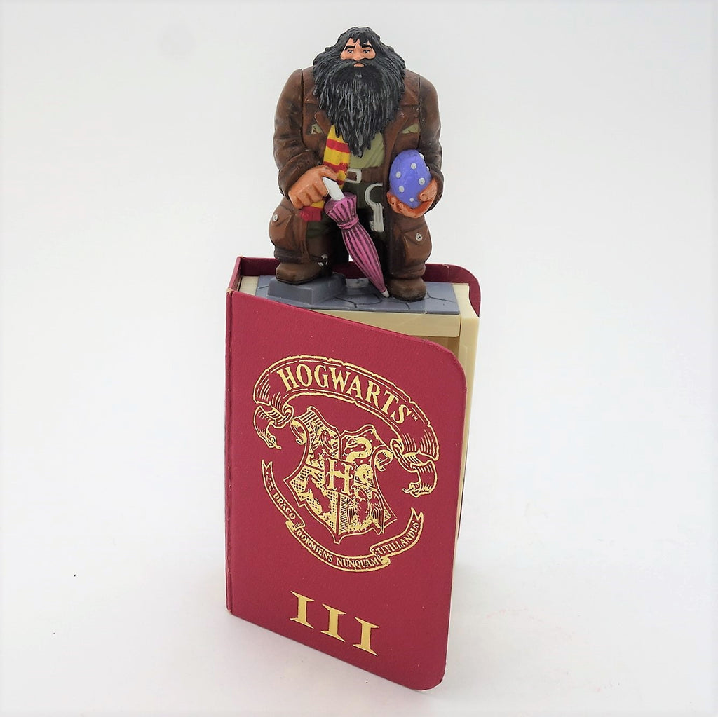 "Harry Potter Diecast ""Hagrid"" Figure Inside Book"