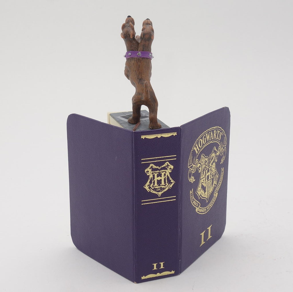 "Harry Potter Diecast ""Fluffy"" Figure Inside Book"