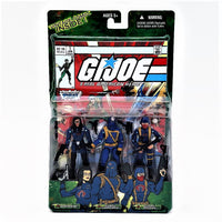 GI Joe Comic Book with Baroness Cobra Commander Cobra Trooper Hasbro Action Figures