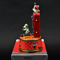 Coca-Cola a Refreshing Pause Mini Musical Christmas Decoration Enesco