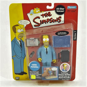 The Simpsons Intelli-tronics Playmates Herb Powell Series 1 Interactive Figure #142040 2002
