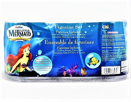 Disney Little Mermaid Special Edition 7 Piece Figurine Set