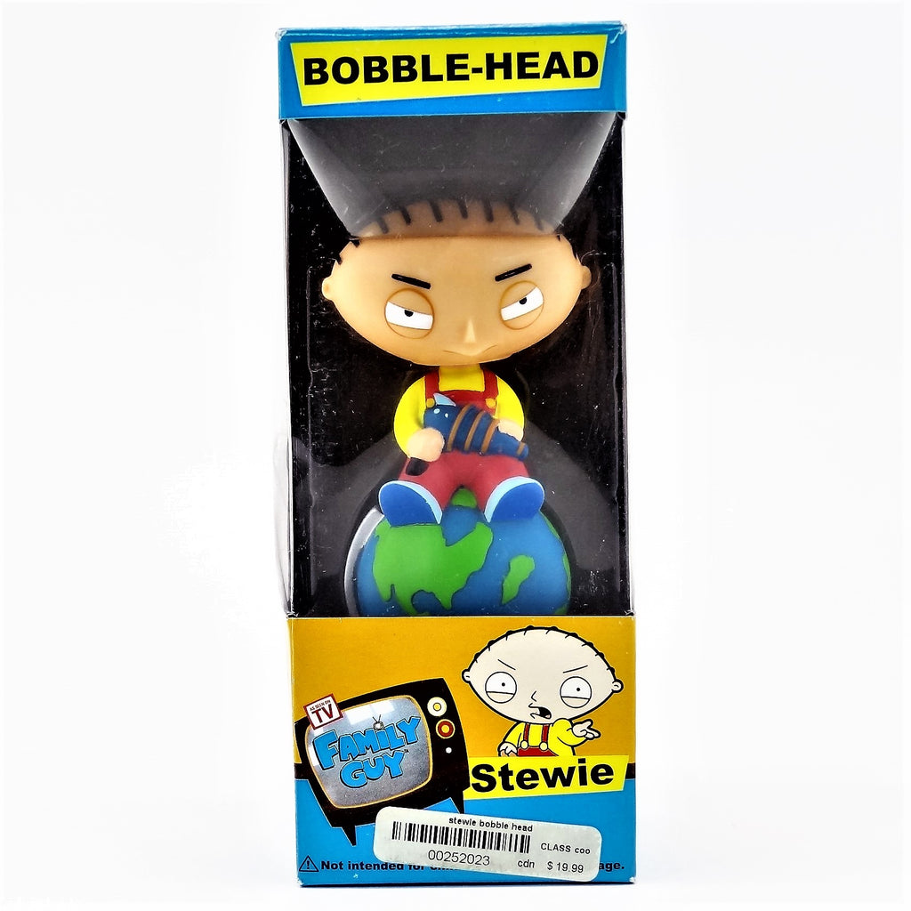 "Family Guy's ""Stewie"" Taking Over the World Bobble-Head Figure"