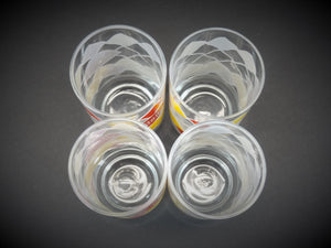 Vintage Dairy Queen Set of 4 Glasses