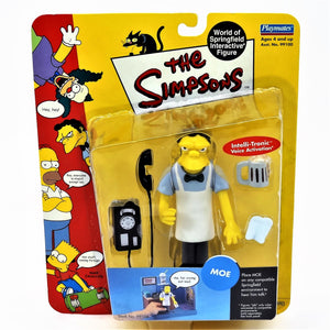 "The Simpsons Playmates Intelli-Tronic ""Moe"" Figure with Accessories"