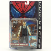 "Grand Toy Biz Spider-man ""J. Jonah Jameson"" Figure with Desk Pounding Action and Accessories"