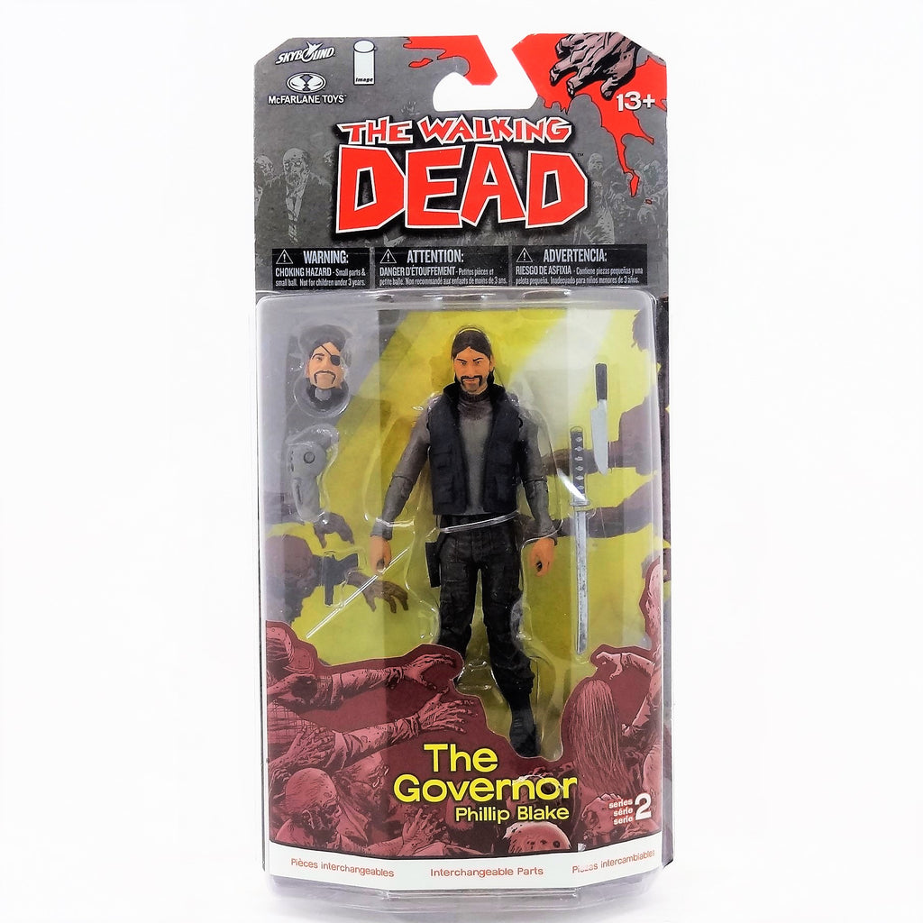 "McFarlane Toys' The Walking Dead ""The Governor Philip Blake"" Action Figure With Accessories"