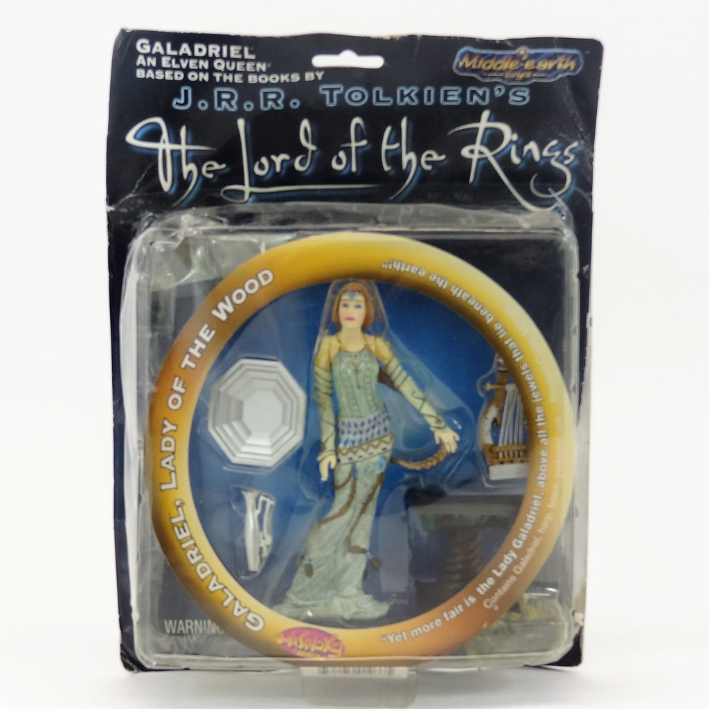 "The Lord of the Rings ""Galadriel, Lady of the Wood"" Middle Earth Toys Action Figure and Accessories"