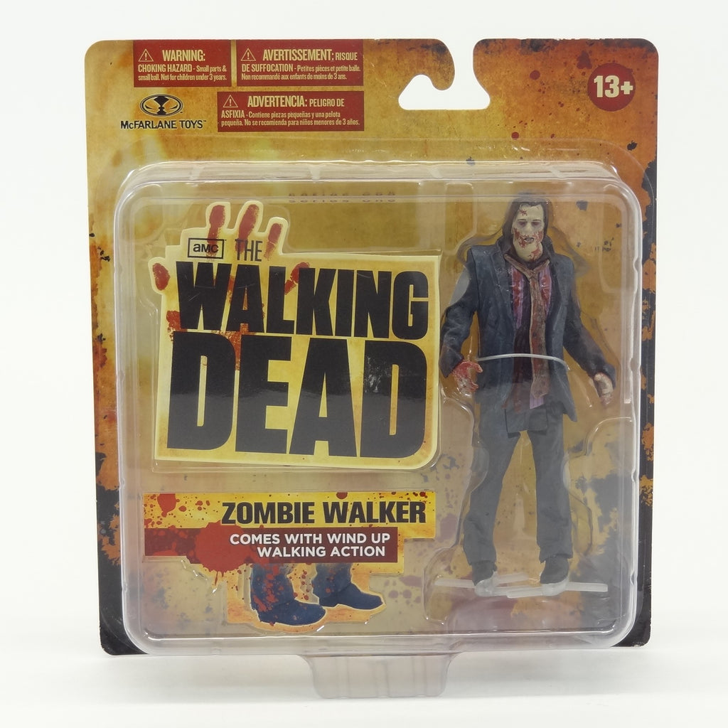 "McFarlane AMC's The Walking Dead ""Zombie Walker"" Action Figure with Wind Up Walking Action"