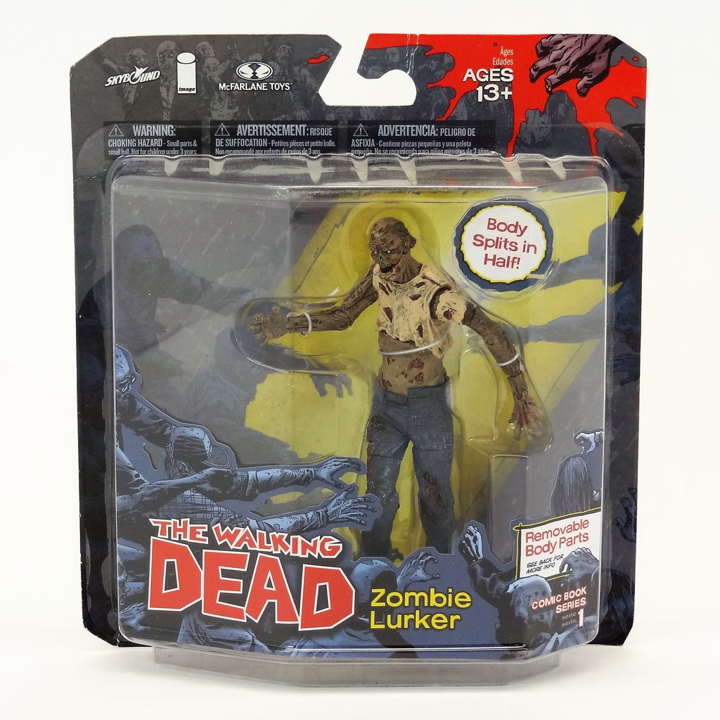 "McFarlane Toys The Walking Dead ""Zombie Lurker"" Comic Book Series 1 Action Figure"