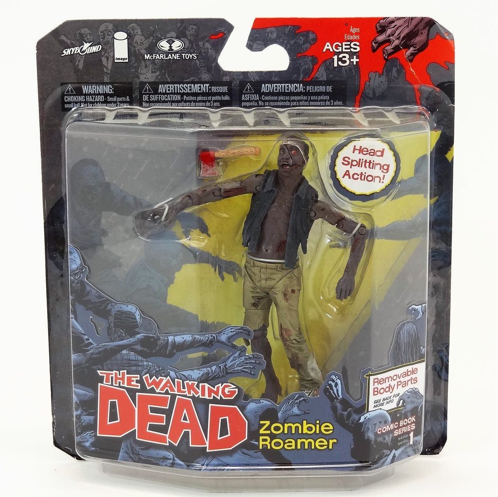 "McFarlane Toys The Walking Dead ""Zombie Roamer"" Skybound Comic Book Series 1 Action Figure"