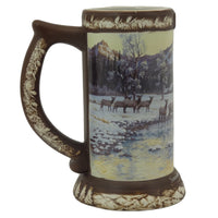 "Coors Collection ""Somewhere Near Golden, Colorado"" 2006 Hand Painted Beer Stein"